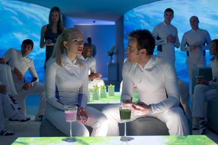 Scarlett Johansson og Ewan McGregor i 'The Island' (2005).