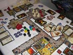 Et spil 'Descent' er igang: klassisk Ameritrash med masser af figurer, brikker, terninger, kort og naturligvis en dungeon
