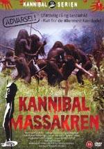 Coveret til AWE's udgivelse af Ruggero Deodatos 'Cannibal Holocaust'