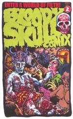 Forsiden af Bloody Skull Comix #2