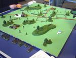Et 'Warmaster 1848'-spil i fuld gang