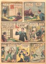 Clark Kent/Superman på arbejde. 'Action Comics' #1 (1938)