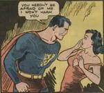 Lois møder sin skytsengel. 'Action Comics' #1 (1938)
