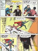 Superman bekæmper korruption. 'Action Comics' #1 (1938)