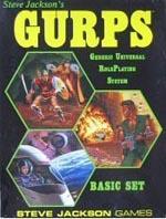 'GURPS' 1st Edition, bokssæt-cover