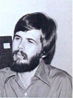Steve Jackson som han så ud i 1981 (fra bagsiden af hans bog 'Game Design - Theory and Practice').