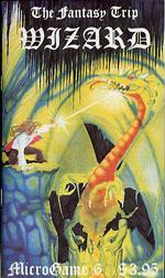 'Wizard' - den første udgaves forside.
