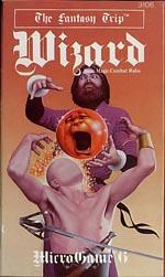Forside til den senere udgave af 'Wizard' - Ja, lidt coolere end det første må man sige.