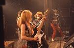 Iron Maiden på scenen.