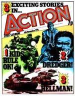 Forside fra bladet 'Action'