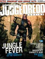 Det nyeste 'Judge Dredd Megazine', nr. 243 fra den 4. april 2006