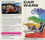 Coveret af den originale ziplock-udgave af 'Car Wars' fra 1981
