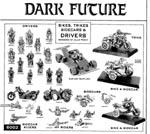 Bikes, trikes, sidecars og drivers til 'Dark Future', fra 'White Dwarf' nr. 107