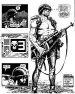 Brett Ewings Rogue Trooper (fra 'The Future of War')