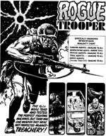 Mike Doreys udgave af Rogue Trooper, som heldigvis ikke helt slog an (fra 'The Future of War')