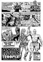 """Brett Ewings mere fjollede tegneserie-Rogue-udgave.. (fra 'Extreme Edition 15') """"Hvorfor?"""" spørger jeg bare."""