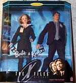 Mulder & Scully som Barbie & Ken