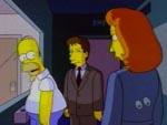 Serien blev så populær, at Mulder og Scully er med i et afsnit af The Simpsons - naturligvis med stemme af David Duchovny og Gillian Anderson