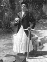En haitiansk troldmand.