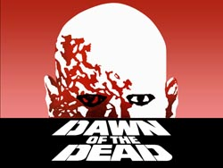 Reklameplakat for George Romeros 'Dawn of the Dead'