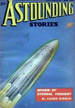 'Astounding Stories' april 1936.