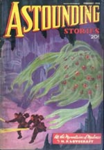 'Astounding Stories' februar 1936.