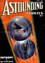 'Astounding Stories' marts 1936.