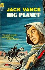 Forsiden af Ace Publishings førsteudgave af 'Big Planet'