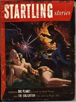 'Startling Stories', september 1952, hvori novellen 'Big Planet' udkom første gang