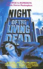 Plakat for Romeros 'Night of the Living Dead'.