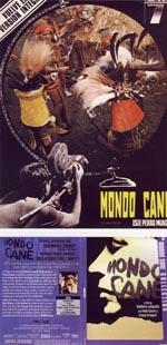 'Mondo Cane' - poster og DVD-cover.
