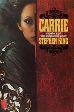 Førsteudgaven af 'Carrie', Doubleday 1974.