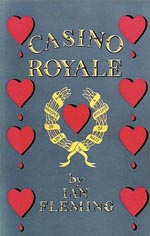 Forsiden af førsteudgaven af 'Casino Royale', forlaget Jonathan Cape, 1953