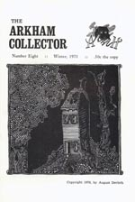 'The Arkham Collector', vol. 8, 1970