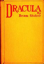 Førsteudgaven af 'Dracula'.