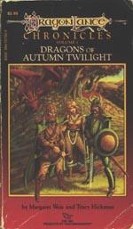 'Dragons of Autumn Twilight', første udgave fra 1984