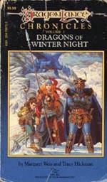 'Dragons of Winter Night', første udgave fra 1985.