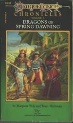 'Dragons of Spring Dawning', første udgave fra 1985