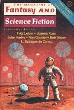 'The Magazine of Fantasy and Science Fiction', februar 1977 hvor anden del af 'The Pale Brown Thing' udkom