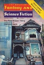 'The Magazine of Fantasy and Science Fiction', januar 1977 hvor første del af 'The Pale Brown Thing' udkom