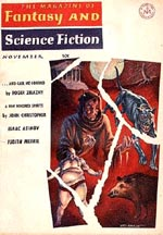 'The Magazine of Fantasy and Science Fiction', november 1965