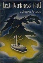 Førsteudgaven af 'Lest Darkness Fall', Henry Holt and Company 1941.