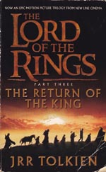 Forsiden af movie tie-in-udgaven af 'The Return of the King' (2001)