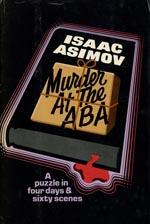 Førsteudgaven af 'Murder at the ABA', forlaget Doubleday, 1976.