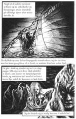 Fra den grafiske novelle 'Svøben'