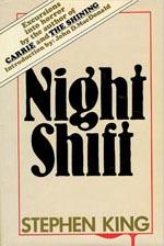 Førsteudgaven af 'Night Shift', Doubleday 1978.