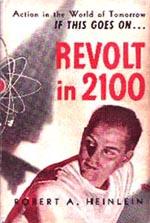 Den amerikanske førsteudgave af 'Revolt in 2100' fra 1953