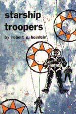 Forsiden af førsteudgaven af 'Starship Troopers'