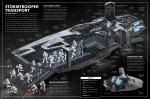 Stormtrooper-transportskib. Opslag fra den engelsksprogede udgave.