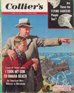 Forsiden af Collier's, juni 1954. Igen er teksten i den lille boks øverst t.h. sigende for, hvad der optog amerikanerne.